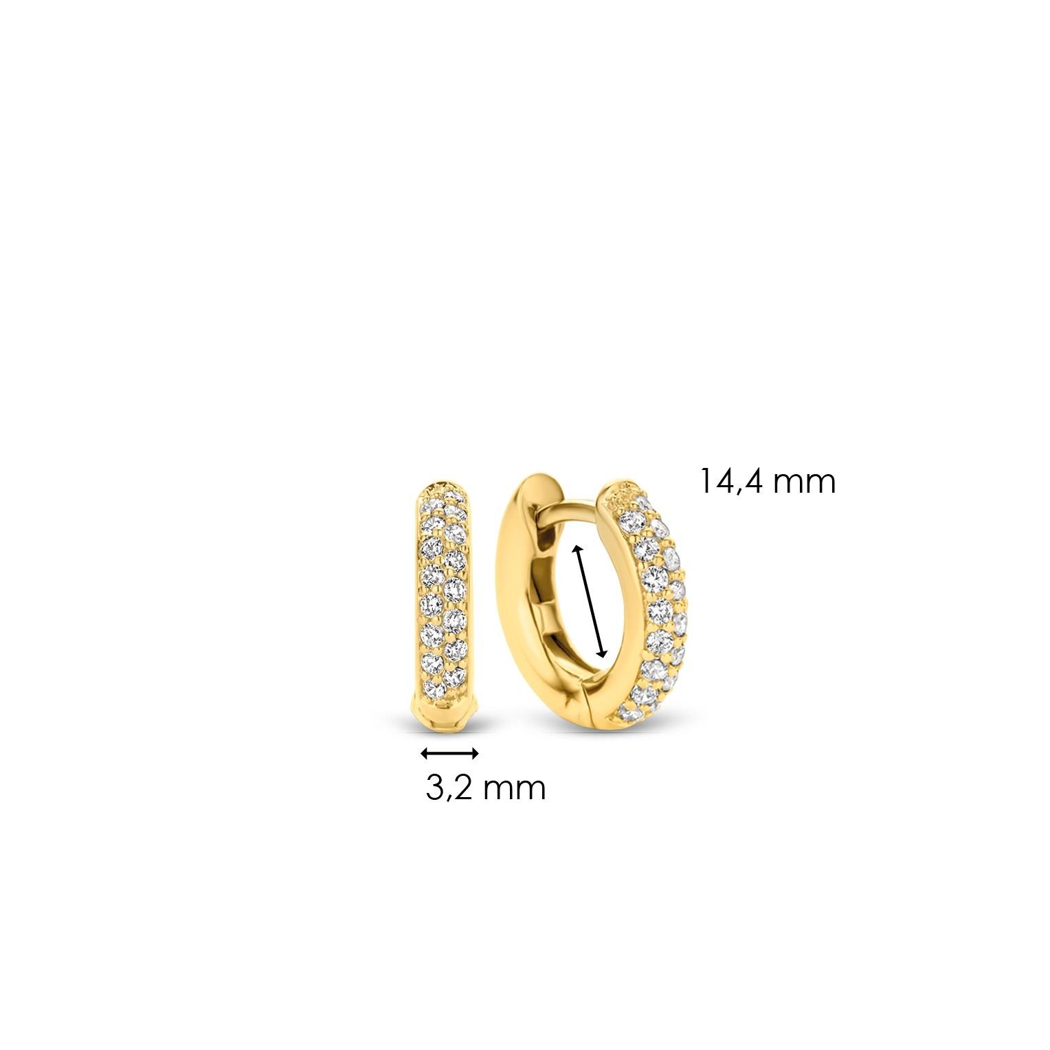 TI SENTO - Milano Earrings 7210ZY-4