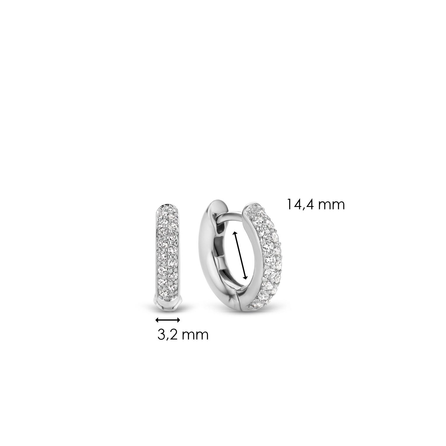 TI SENTO - Milano Earrings 7210ZI-4