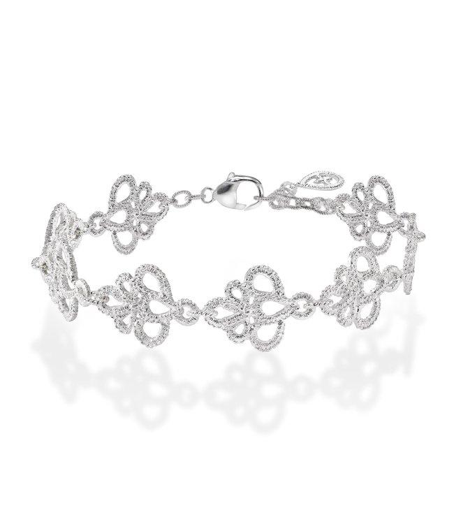"""Brigitte Adolph Armband """"Medea Pearl"""" in zilver"""