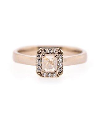 W. de Vaal W. de Vaal - Ring 14krt White gold.