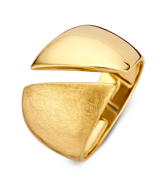Excellent Jewelry Excellent jewelry Ring geelgoud Maat 58