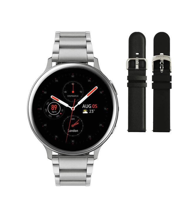 Samsung Samsung Galaxy Watch Active2 Special Edition - Zilverkleurig - Ø 44 mm + Gratis Powerbank