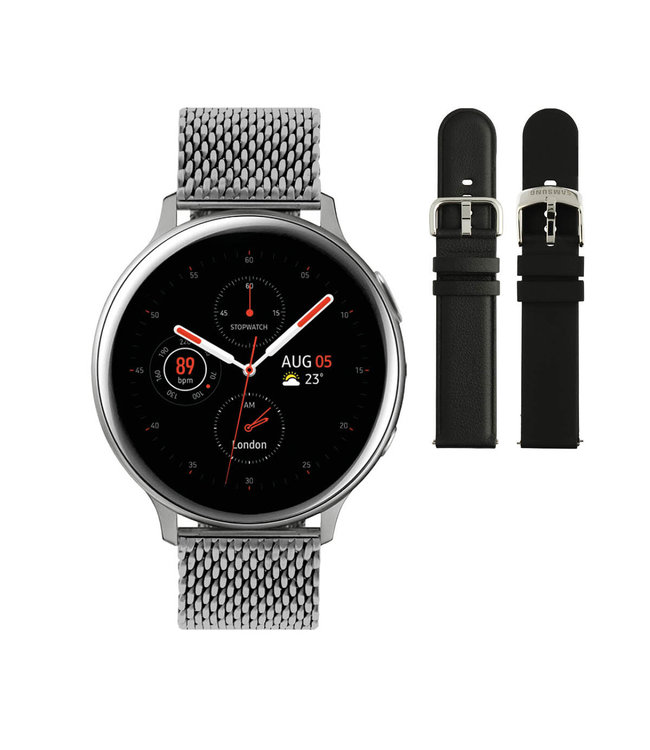Samsung Samsung Galaxy Watch Active2 Special Edition - Zilverkleurig - Ø 44 mm