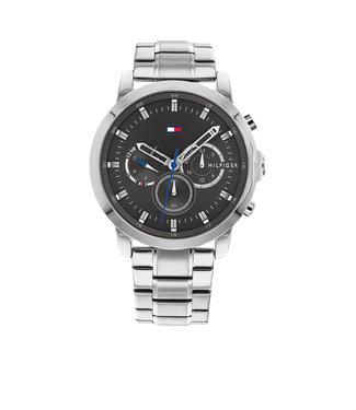 Tommy Hilfiger Tommy Hilfiger TH1791794 Horloge - Zilverkleurig 46mm