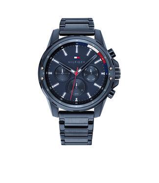 Tommy Hilfiger Tommy Hilfiger TH1791789 Horloge - Blauw 45mm