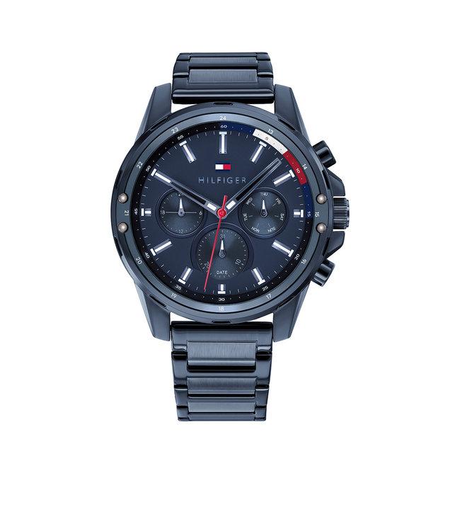 Tommy Hilfiger TH1791789 Horloge - Blauw 45mm