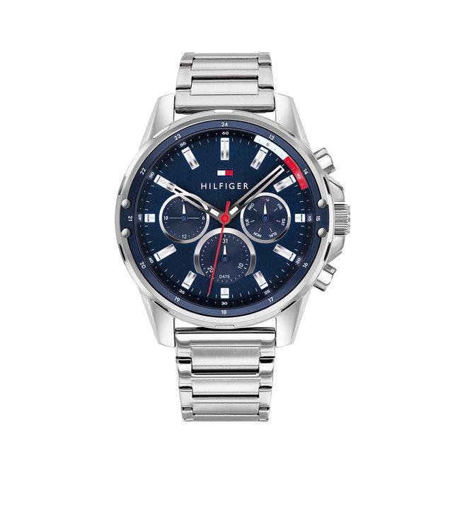 Tommy Hilfiger TH1791788 Horloge - Zilverkleurig 45mm