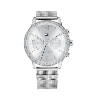 Tommy Hilfiger Tommy Hilfiger TH1782301 Horloge - Zilverkleurig 38mm
