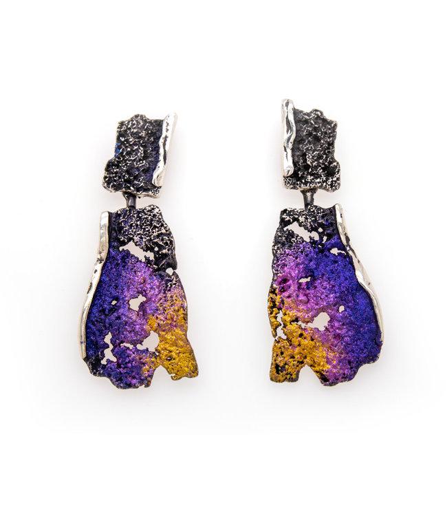 Arior Barcelona intenzza big earring violet