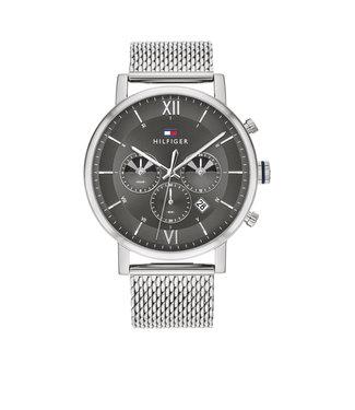 Tommy Hilfiger Tommy Hilfiger TH1710396 Horloge - Zilverkleurig 44mm