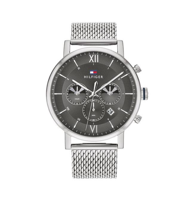 Tommy Hilfiger TH1710396 Horloge - Zilverkleurig 44mm