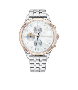 Tommy Hilfiger Tommy Hilfiger TH1782122 Horloge - Zilverkleurig 39mm