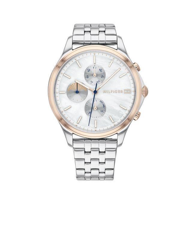 Tommy Hilfiger TH1782122 Horloge - Zilverkleurig 39mm