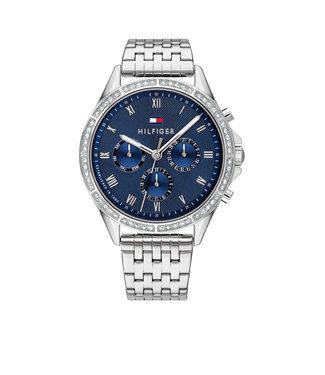 Tommy Hilfiger Tommy Hilfiger TH1782141 Horloge - Zilverkleurig 40mm