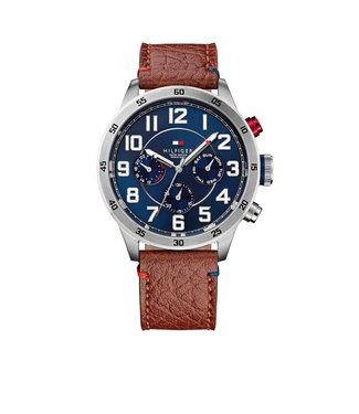 Tommy Hilfiger Tommy Hilfiger TH1791066 Horloge - Zilverkleurig 46mm