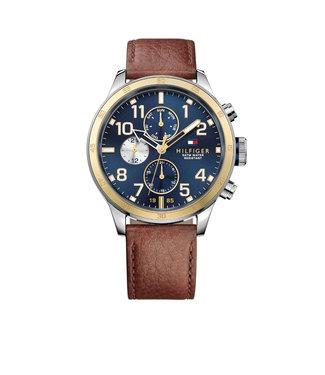 Tommy Hilfiger Tommy Hilfiger TH1791137 Horloge - Zilverkleurig 46mm