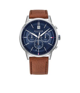 Tommy Hilfiger Tommy Hilfiger TH1791629 Horloge - Zilverkleurig 44mm