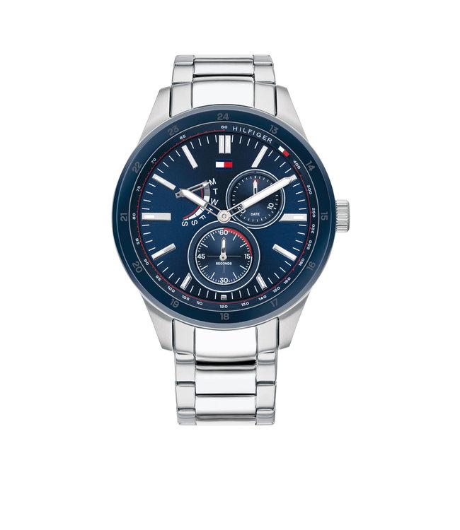 Tommy Hilfiger TH1791640 Horloge - Zilverkleurig 44mm