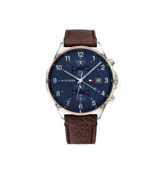 Tommy Hilfiger Tommy Hilfiger TH1791712 Horloge - Zilverkleurig 44mm
