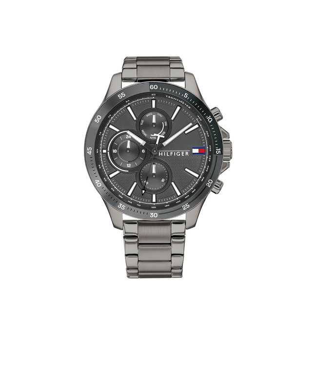Tommy Hilfiger TH1791719 Horloge - Grijs 46mm