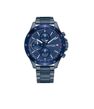 Tommy Hilfiger Tommy Hilfiger TH1791720 Horloge - Blauw 46mm