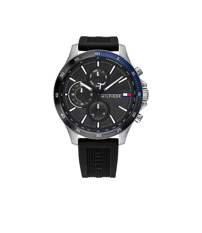 Tommy Hilfiger TH1791724 Horloge - Zilverkleurig 46mm