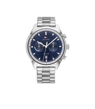 Tommy Hilfiger Tommy Hilfiger TH1791725 Horloge - Zilverkleurig 44mm