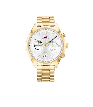 Tommy Hilfiger Tommy Hilfiger TH1791726 Horloge - Goudkleurig 44mm