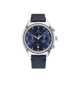 Tommy Hilfiger Tommy Hilfiger TH1791728 Horloge - Zilverkleurig 44mm