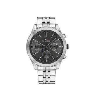 Tommy Hilfiger Tommy Hilfiger TH1791737 Horloge - Zilverkleurig 44mm
