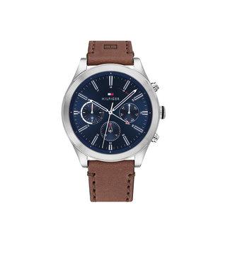 Tommy Hilfiger Tommy Hilfiger TH1791741 Horloge - Zilverkleurig 44mm