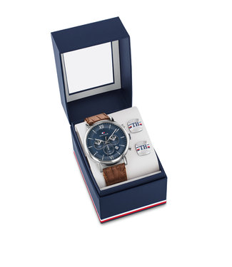 Tommy Hilfiger Tommy Hilfiger TH2770062 Horloge - Zilverkleurig 44mm