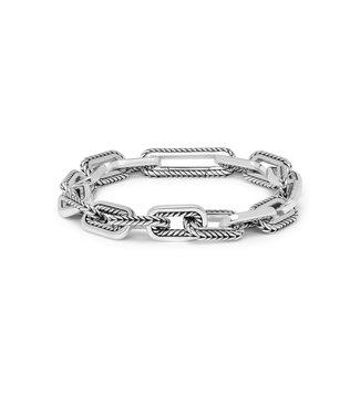 Buddha to Buddha Barbara Link Bracelet Silver