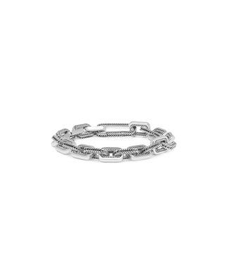 Buddha to Buddha Barbara Link Small Bracelet Silver