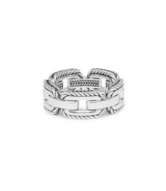 Buddha to Buddha Barbara Link Ring Zilver