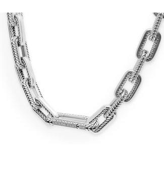 Buddha to Buddha Barbara Link Small Necklace Silver