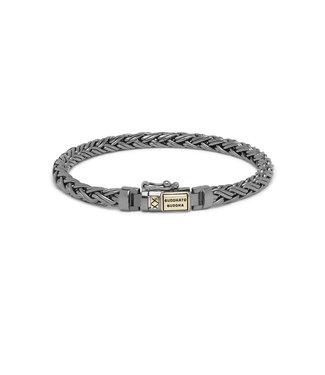 Buddha to Buddha Katja XS Bracelet Black Rhodium Shine Gold 14kt