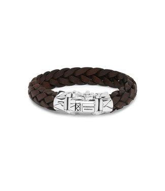 Buddha to Buddha Mangky  Leather Bracelet Brown