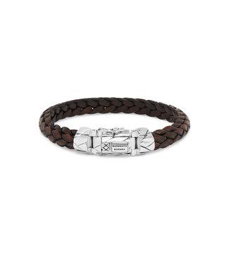 Buddha to Buddha Mangky Small Leather Bracelet Brown