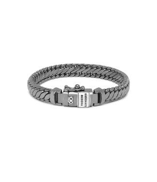 Buddha to Buddha Ben XS Bracelet Black Rhodium Shine Silver