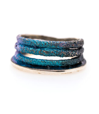 Arior Barcelona Dynamic blue little ring