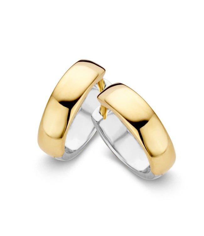 Excellent jewelry Creool bicolor OB406362