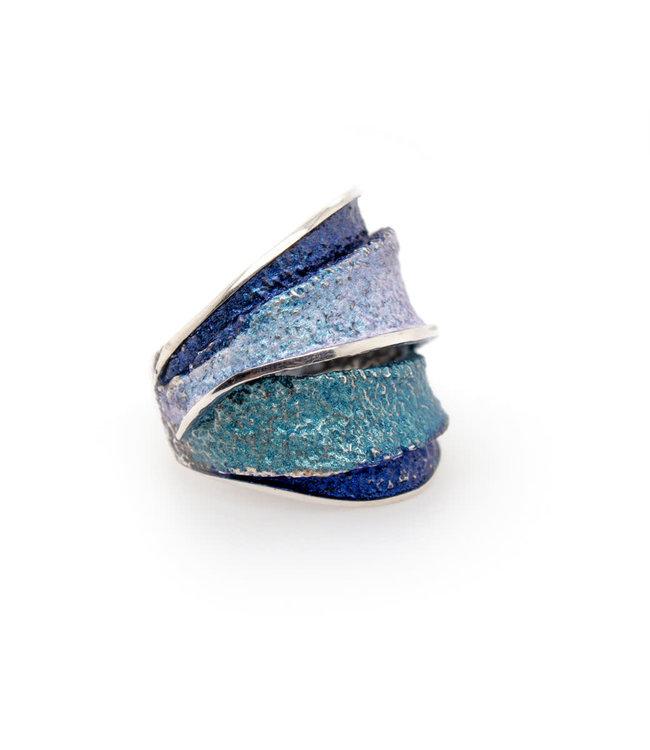 Ring Blau Formentera