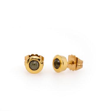 W. de Vaal W. de Vaal - Earrings 14k Yellow Gold.