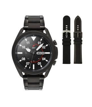 Samsung Samsung Galaxy 3 smartwatch SA.R840BS - Steel - Bracelet- Black - Ø 45 mm - Special edition