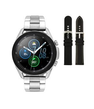 Samsung Samsung Galaxy 3 smartwatch SA.R840SS - Steel - Bracelet- Silver color - Ø 45 mm - Special edition