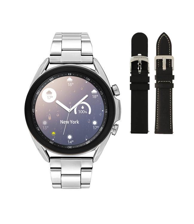 Samsung Galaxy 3 smartwatch SA.R850SD - Staal - Schakelband- Zilverkleurig - Ø 41 mm - Special edition