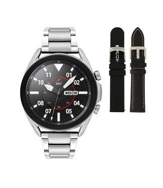 Samsung Samsung Galaxy 3 smartwatch SA.R850SH - Staal - Schakelband- Zilverkleurig - Ø 41 mm - Special edition