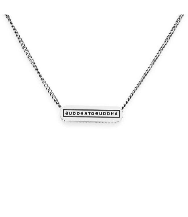 Essential Logo Necklace XS Silver 45,5 cm