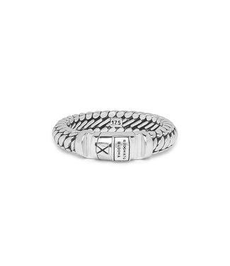 Buddha to Buddha Ben XS Lock Ring Silver